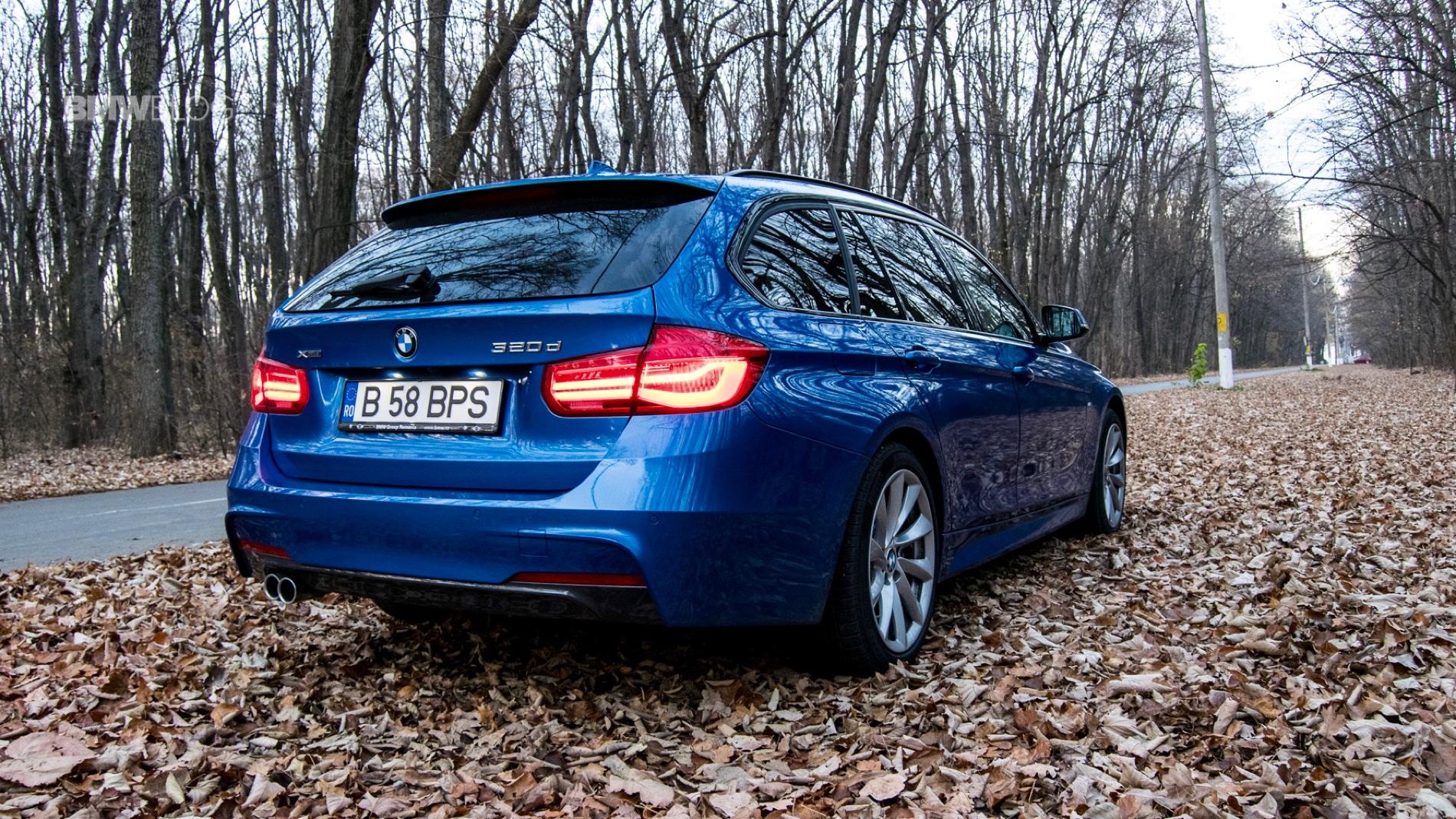 2015 BMW 320d xDrive Touring test drive 6