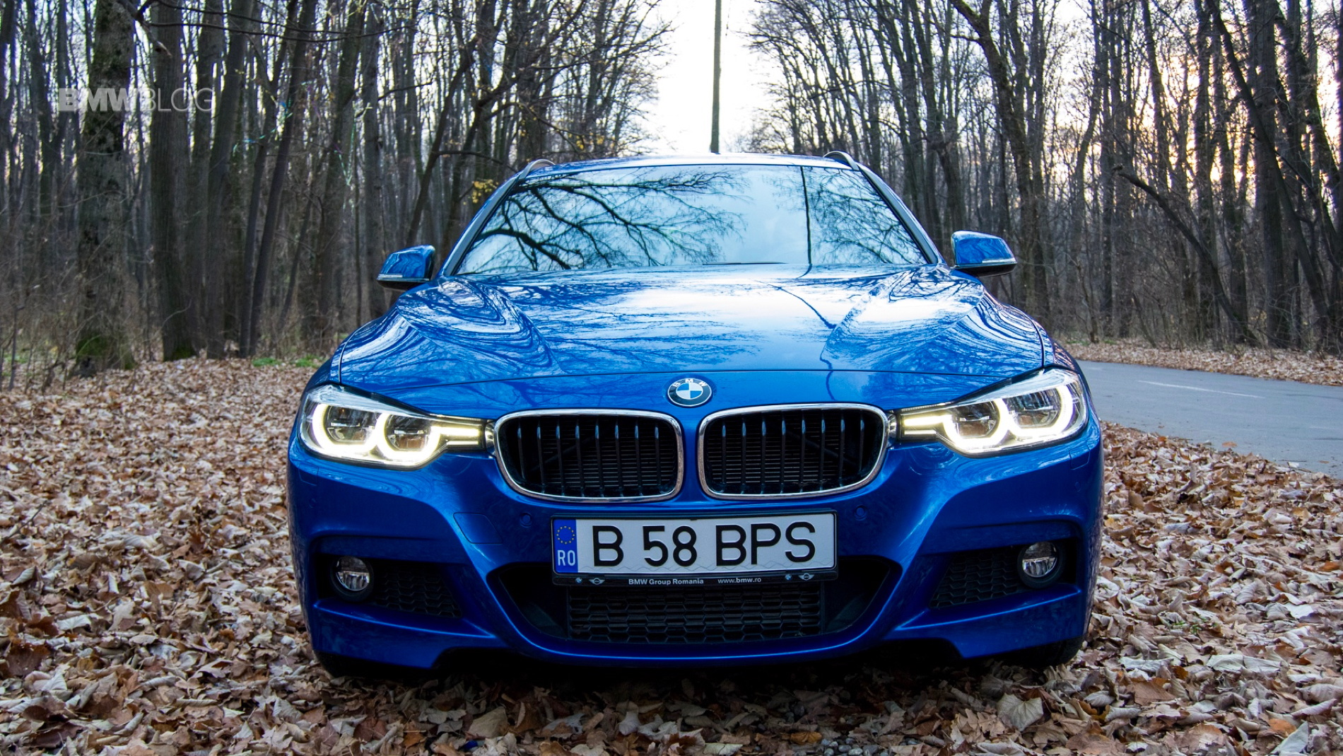 2015 BMW 320d xDrive Touring test drive 67