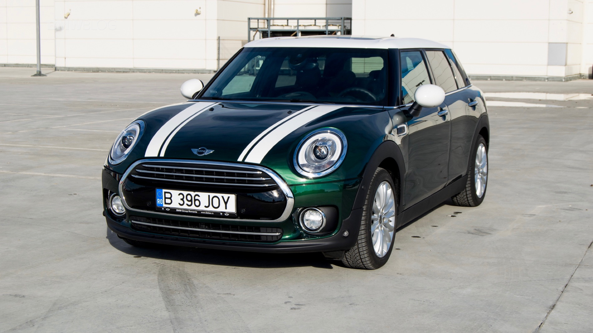 2015 MINI Clubman test drive 105