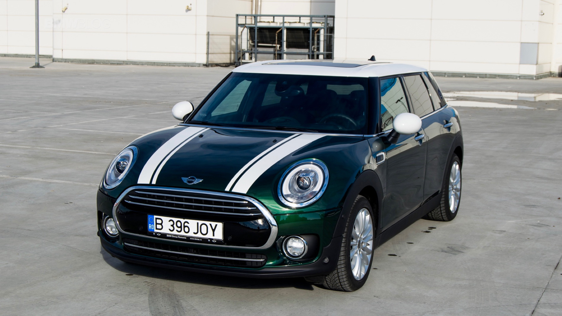 2015 MINI Clubman test drive 106