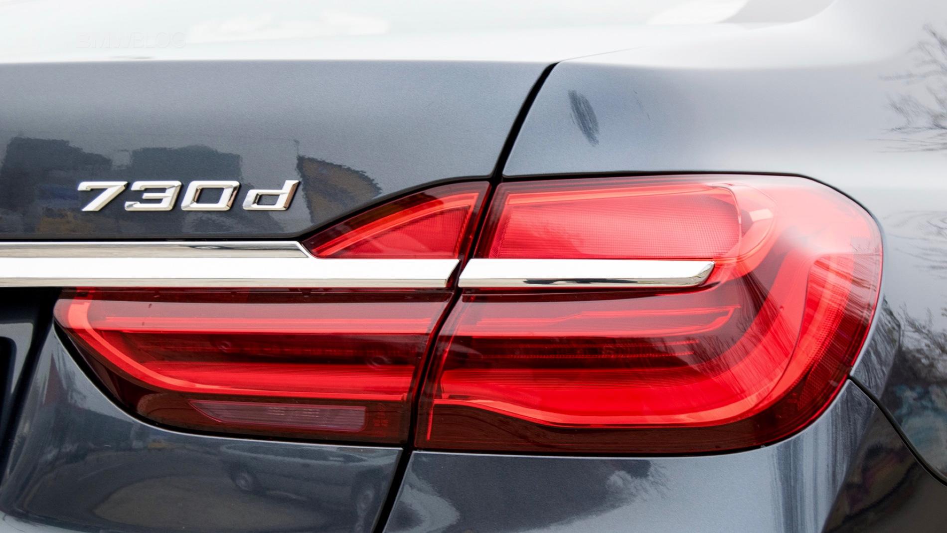 2016 BMW 730d xDrive test drive review 117