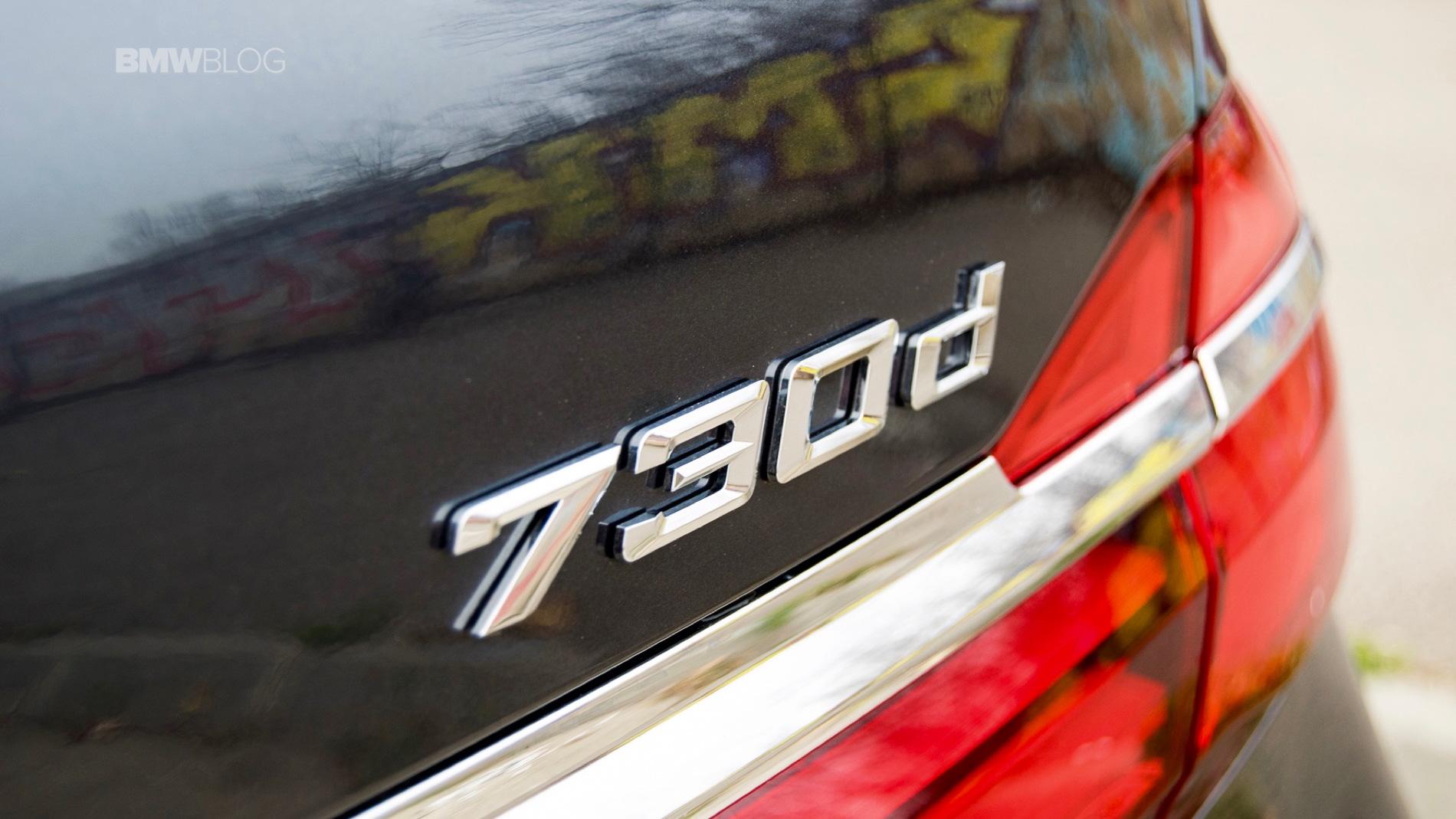 2016 BMW 730d xDrive test drive review 84