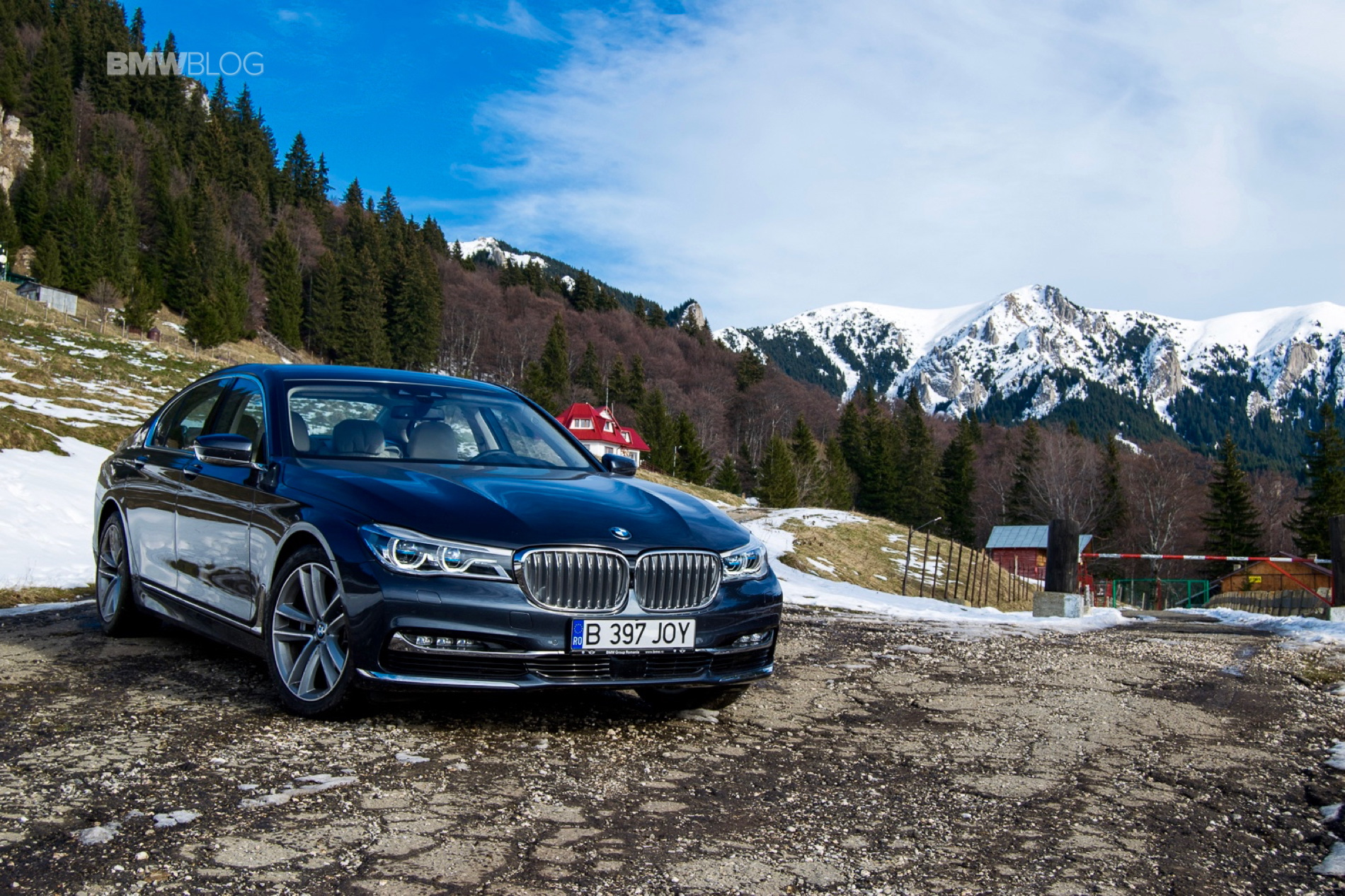 2016 BMW 730d xDrive test drive review 88