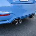 A Yas Marina Blue BMW F82 M4 With A Lightweight Upgrade