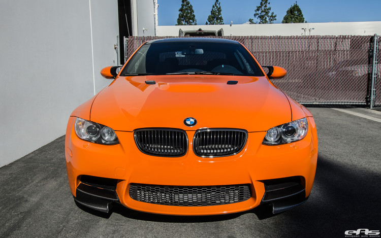 An BMW E92 M3 Lime Rock Park Edition Modded 5
