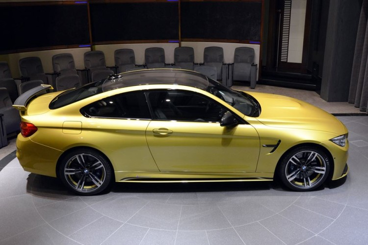 Austin Yellow BMW M4 AD 19 750x500