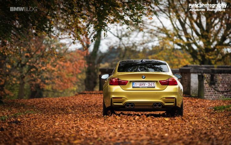 BMW M4 Austin Yellow photoshoot 10 750x469