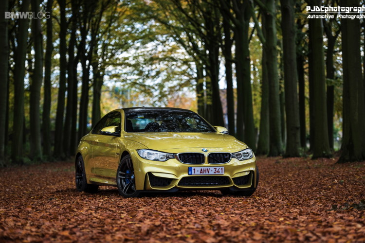 BMW M4 Austin Yellow photoshoot 15 750x500