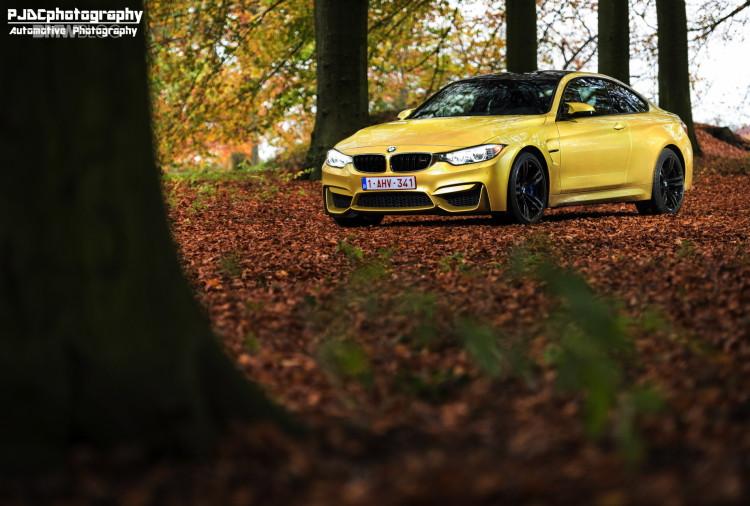 BMW M4 Austin Yellow photoshoot 16 750x506