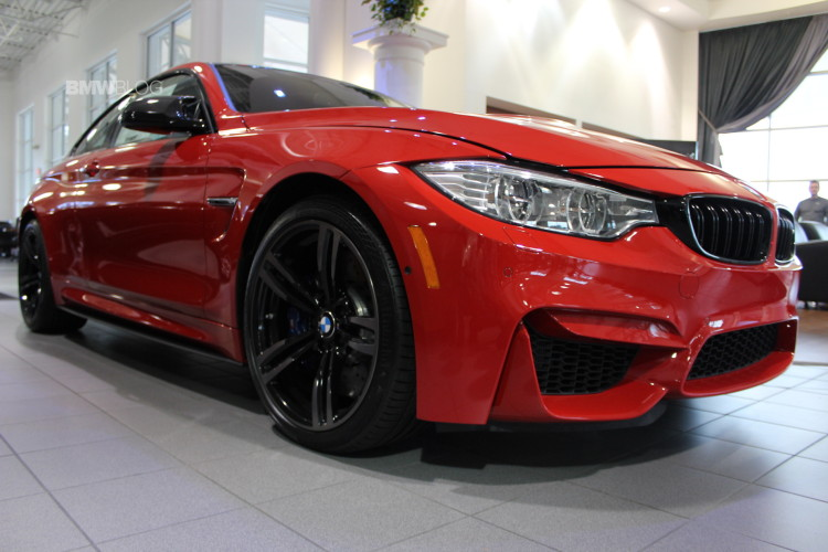 BMW M4 Ferrari Red images 47 750x500