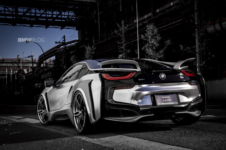 BMW i8 Cyber Edition images 16 750x500