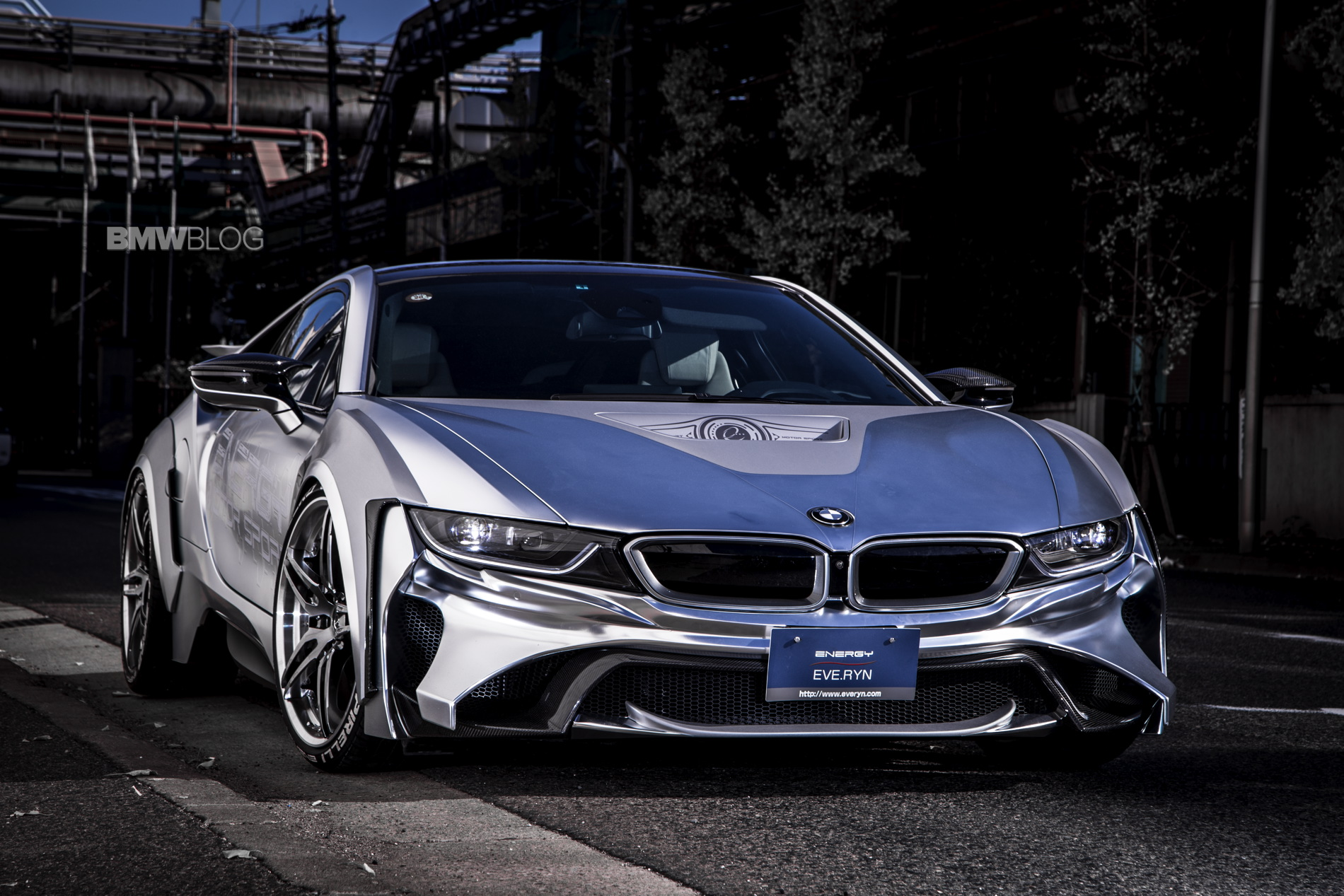 Bmw I8 Cyber Edition Gets An Evo Bodykit