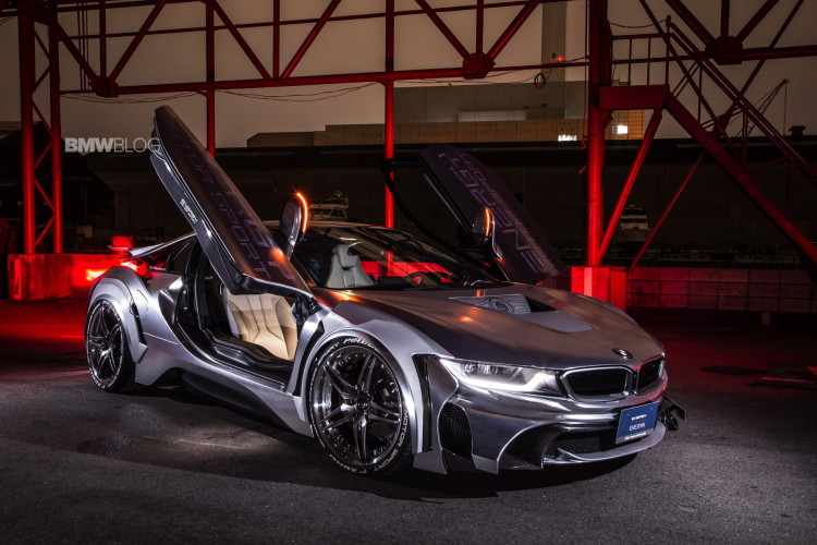BMW i8 Cyber Edition images 2 750x500