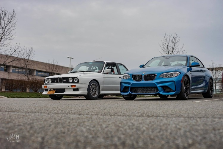 E30 M3 vs BMW M2 comparison 10 750x500