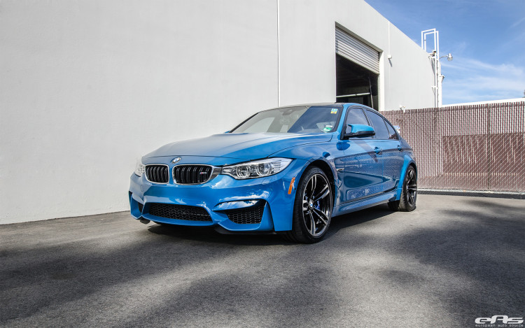 Laguna Seca Blue BMW M3 Modded At European Auto Source