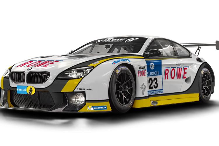 ROWE BMW M6 GT3 2016 750x500