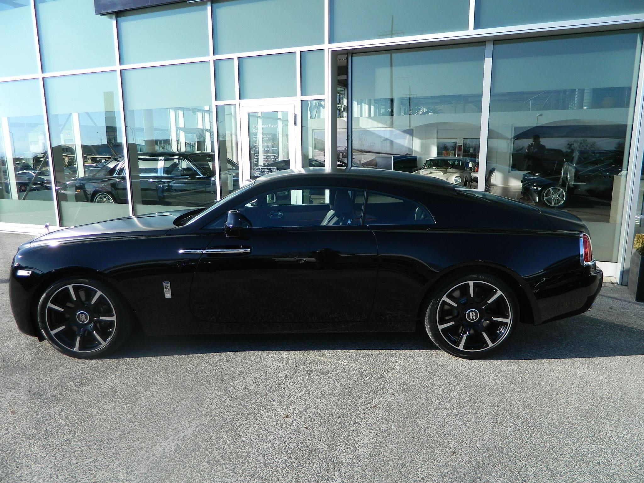 Rolls Royce Wraith Carbon Fiber 2