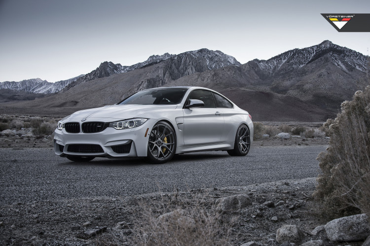 Vorsteiner BMW F82 M4 on V FF 103 wheels 1 750x500