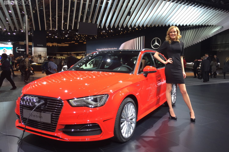 NAIAS Audi A Etron Shows The Company Is Serious About Hybrids - Audi a3 etron