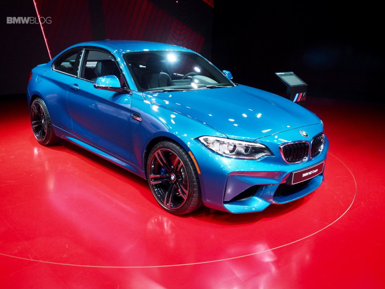 2016 BMW M2 Photos Detroit Auto Show 19 750x563