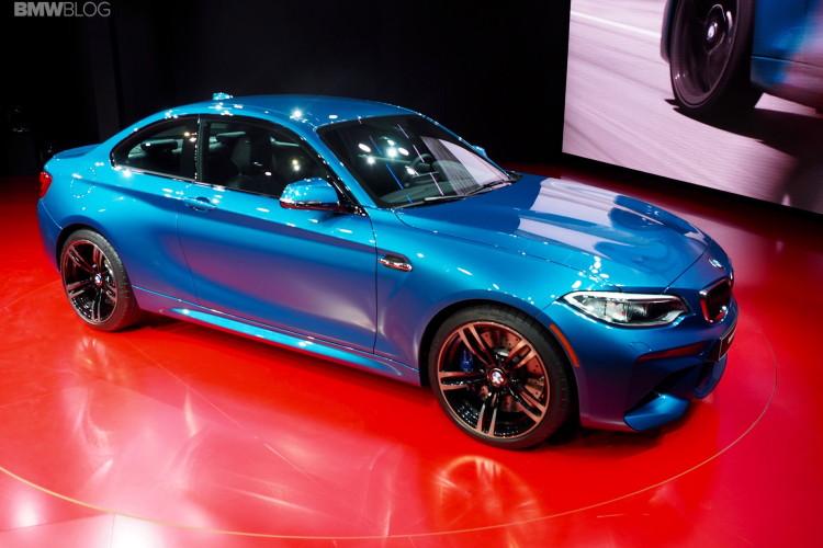 2016 BMW M2 Photos Detroit Auto Show 2 750x500