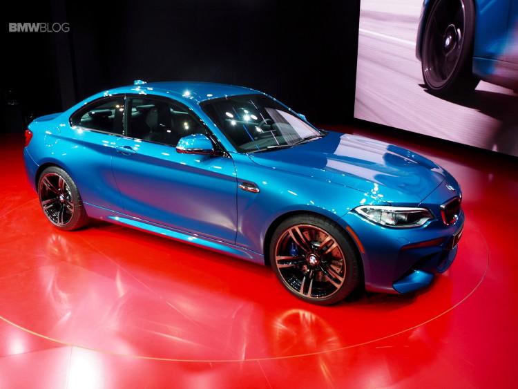 2016 BMW M2 Photos Detroit Auto Show 2 750x563