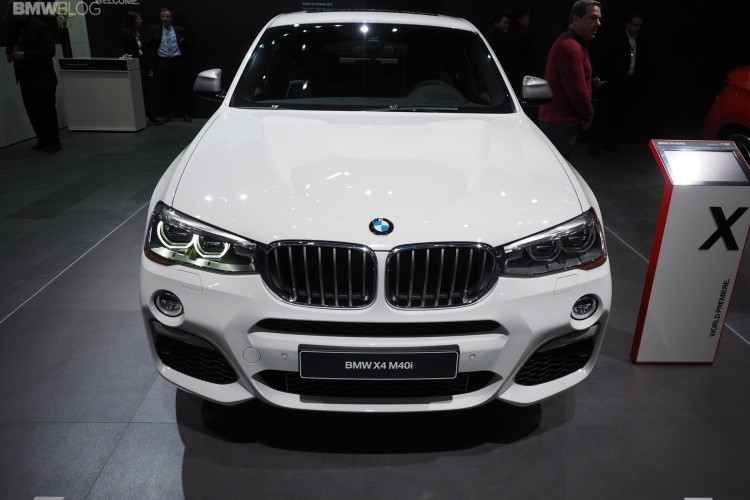 2016 BMW X4 M40i NAIAS 1 750x500