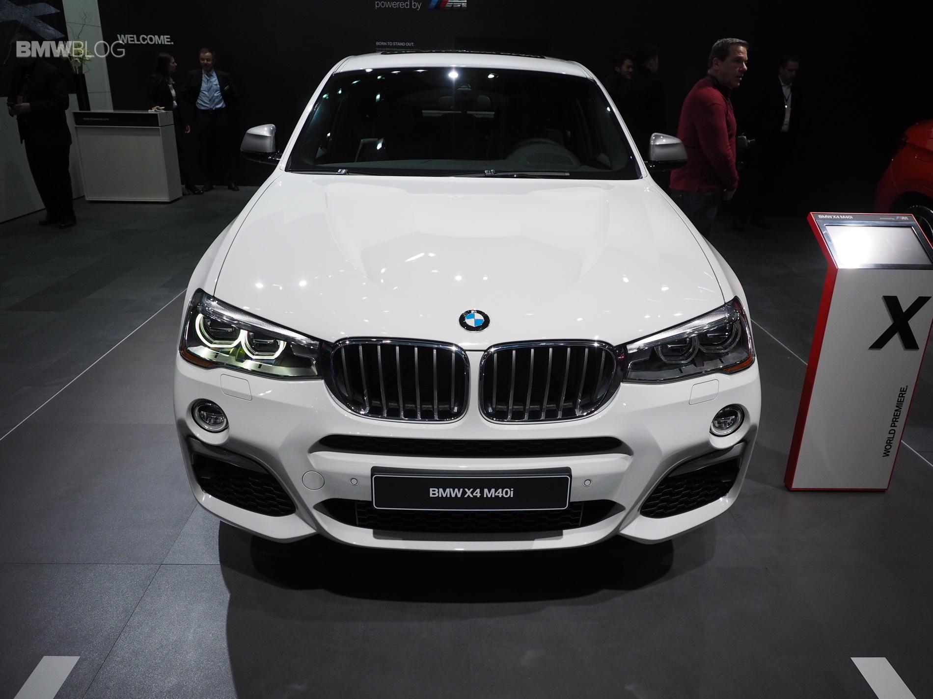 2016 BMW X4 M40i NAIAS 1