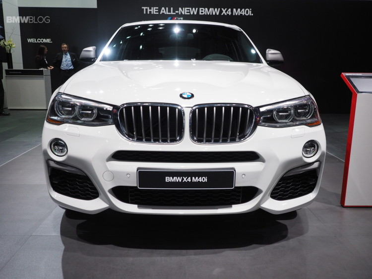 2016 BMW X4 M40i NAIAS 3 750x563