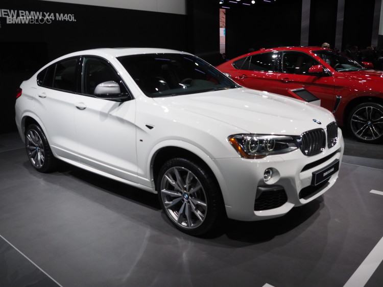 2016 BMW X4 M40i NAIAS 4 750x563