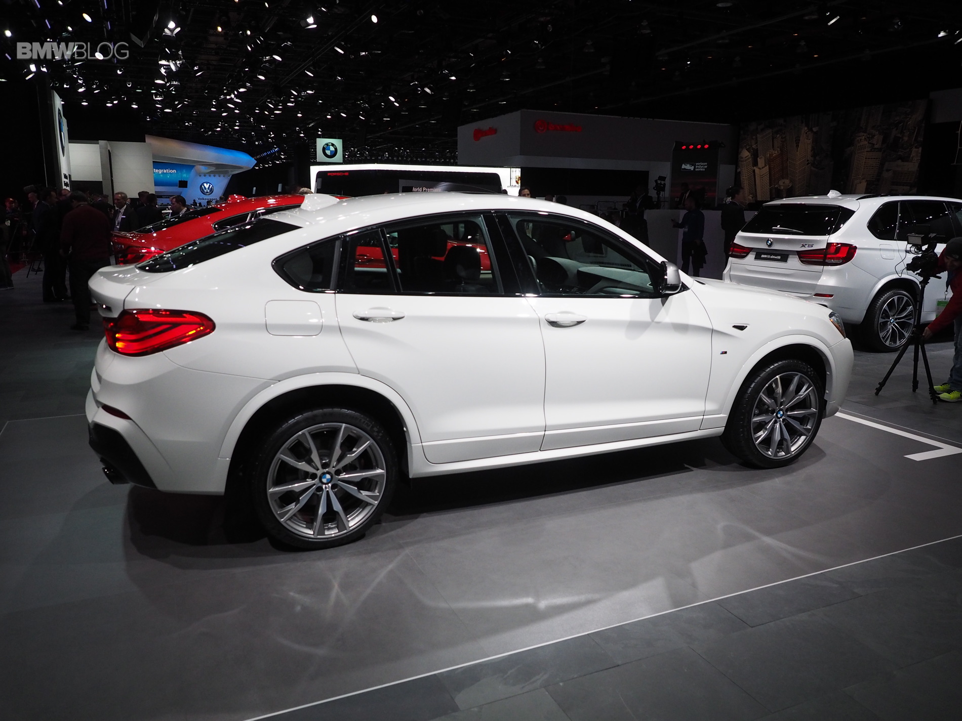 2016 Detroit Auto Show Bmw X4 M40i