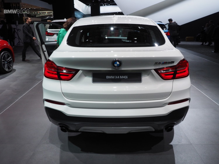 2016 BMW X4 M40i NAIAS 9 750x563