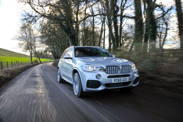 2016 BMW X5 xDrive40e images UK 19 750x500
