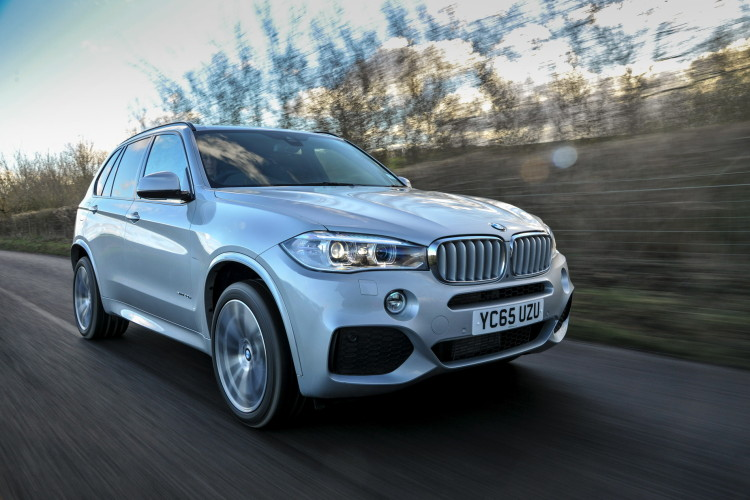 2016 BMW X5 xDrive40e images UK 20 750x500