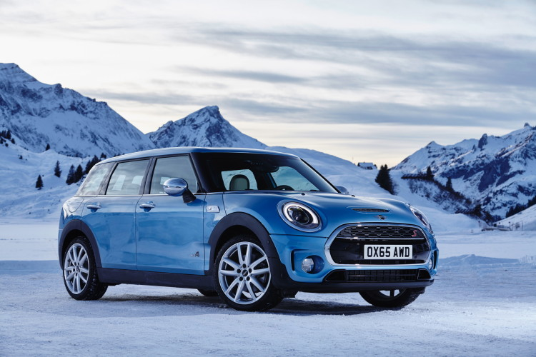 World Premiere The New All Wheel Drive Mini Clubman All4
