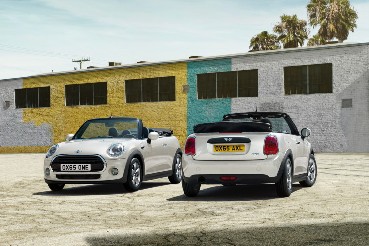 2016 MINI Convertible images 7 750x500
