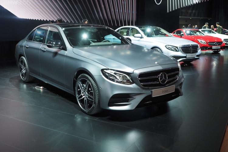 2016 Mercedes Benz E Class images detroit 110 750x500