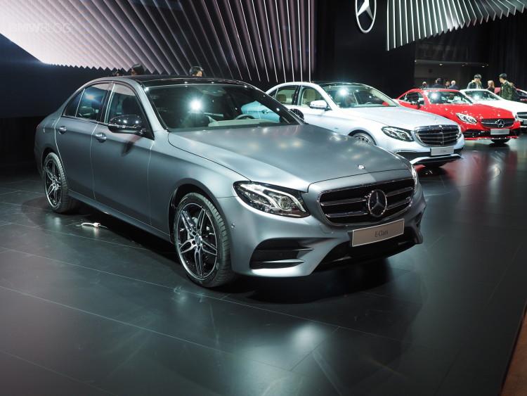 2016 Mercedes Benz E Class images detroit 110 750x563