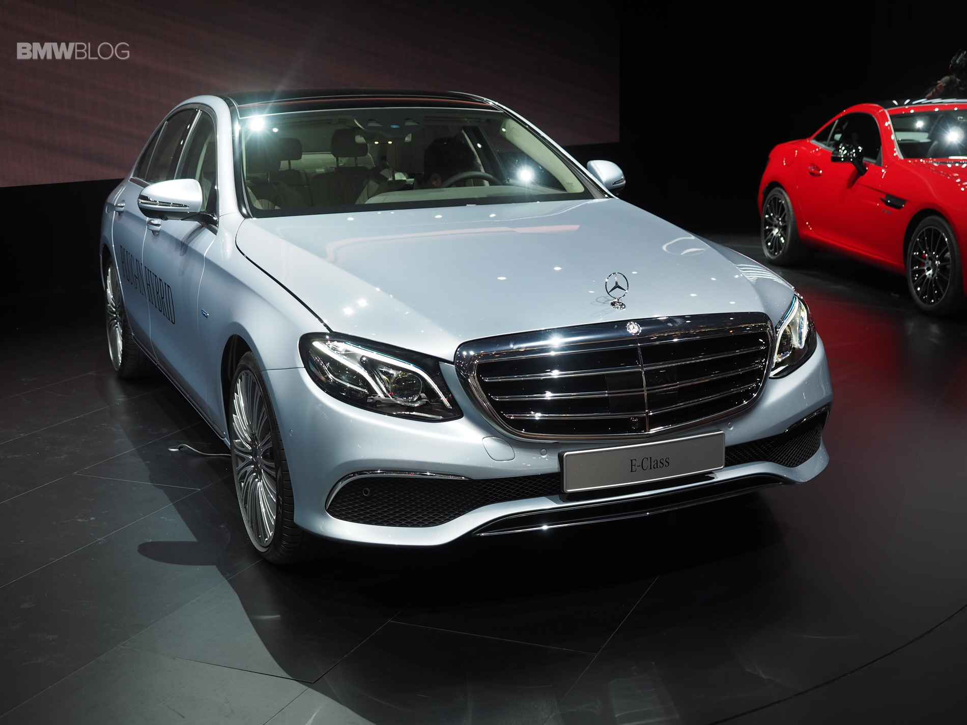 New Mercedes-Benz E-Class launches in Detroit as BMW's 5 Series ...