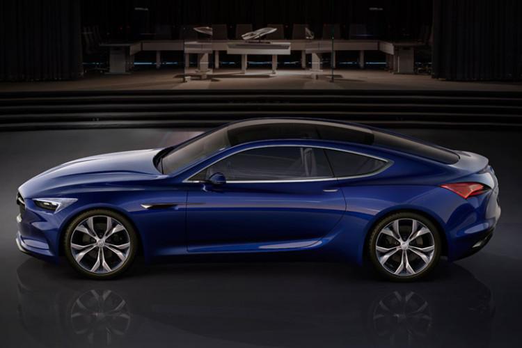 2016 Detroit Auto Show Premiere Buick Avista Concept