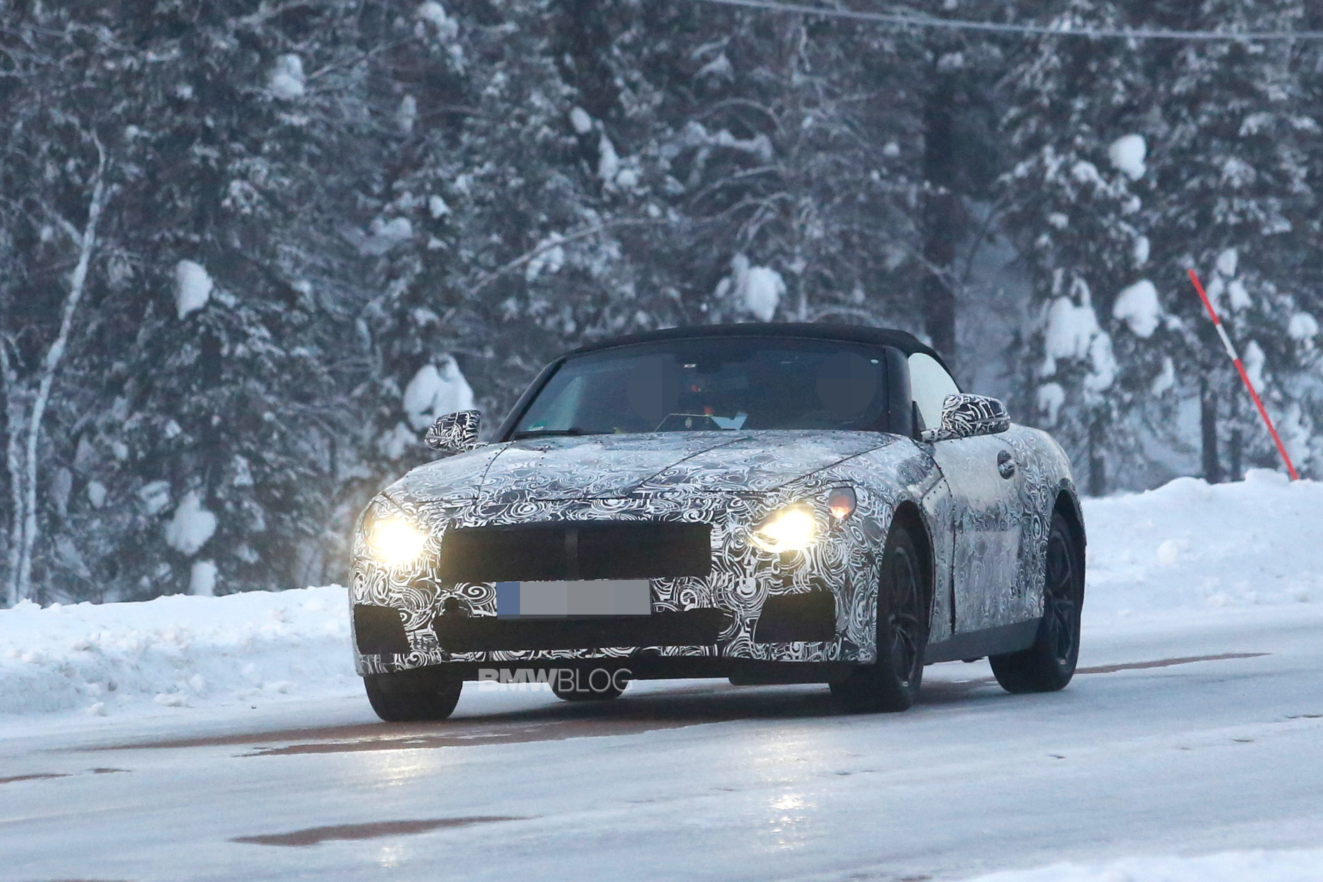 2018 BMW Z5 spy photos 1
