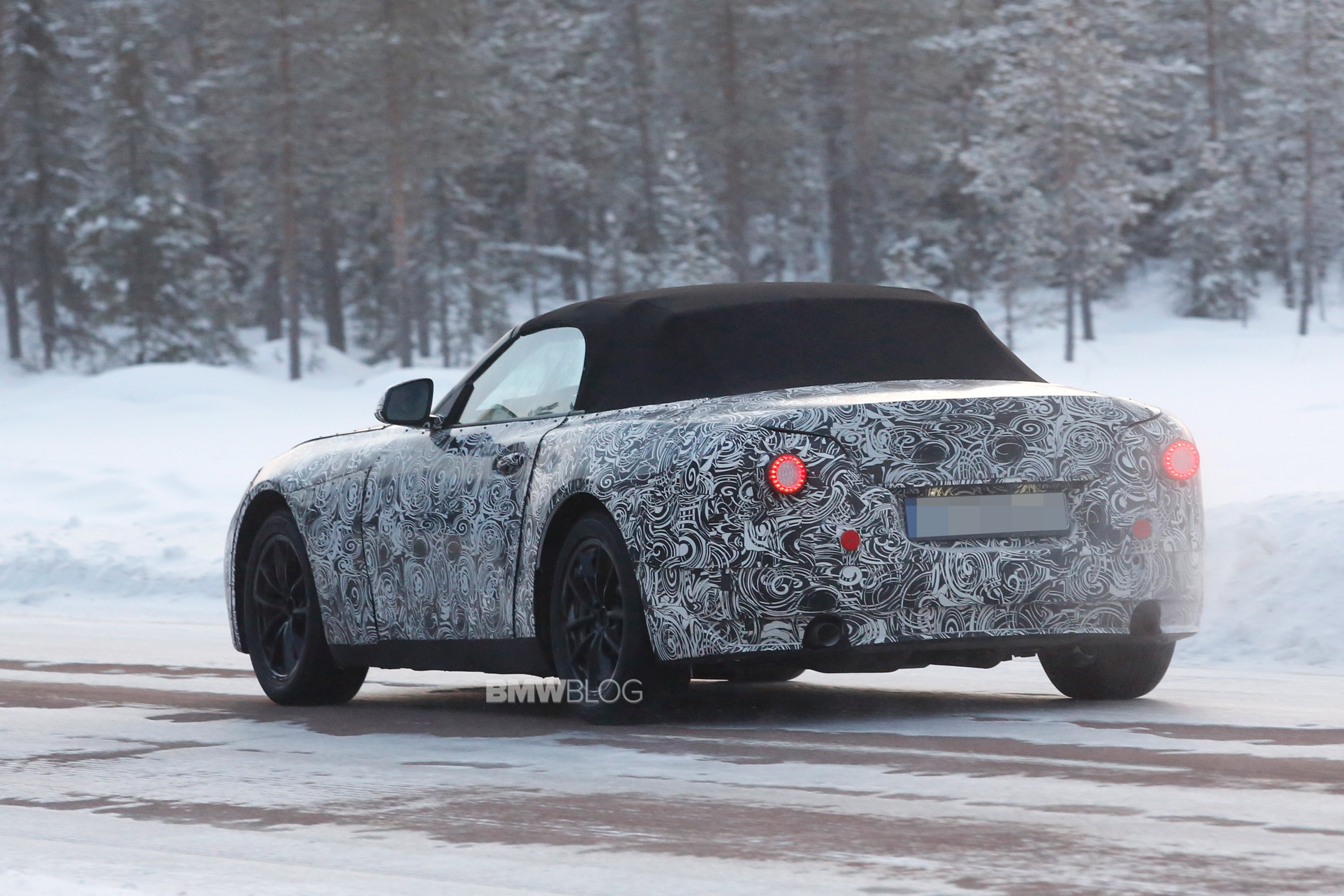 2018 BMW Z5 spy photos 7