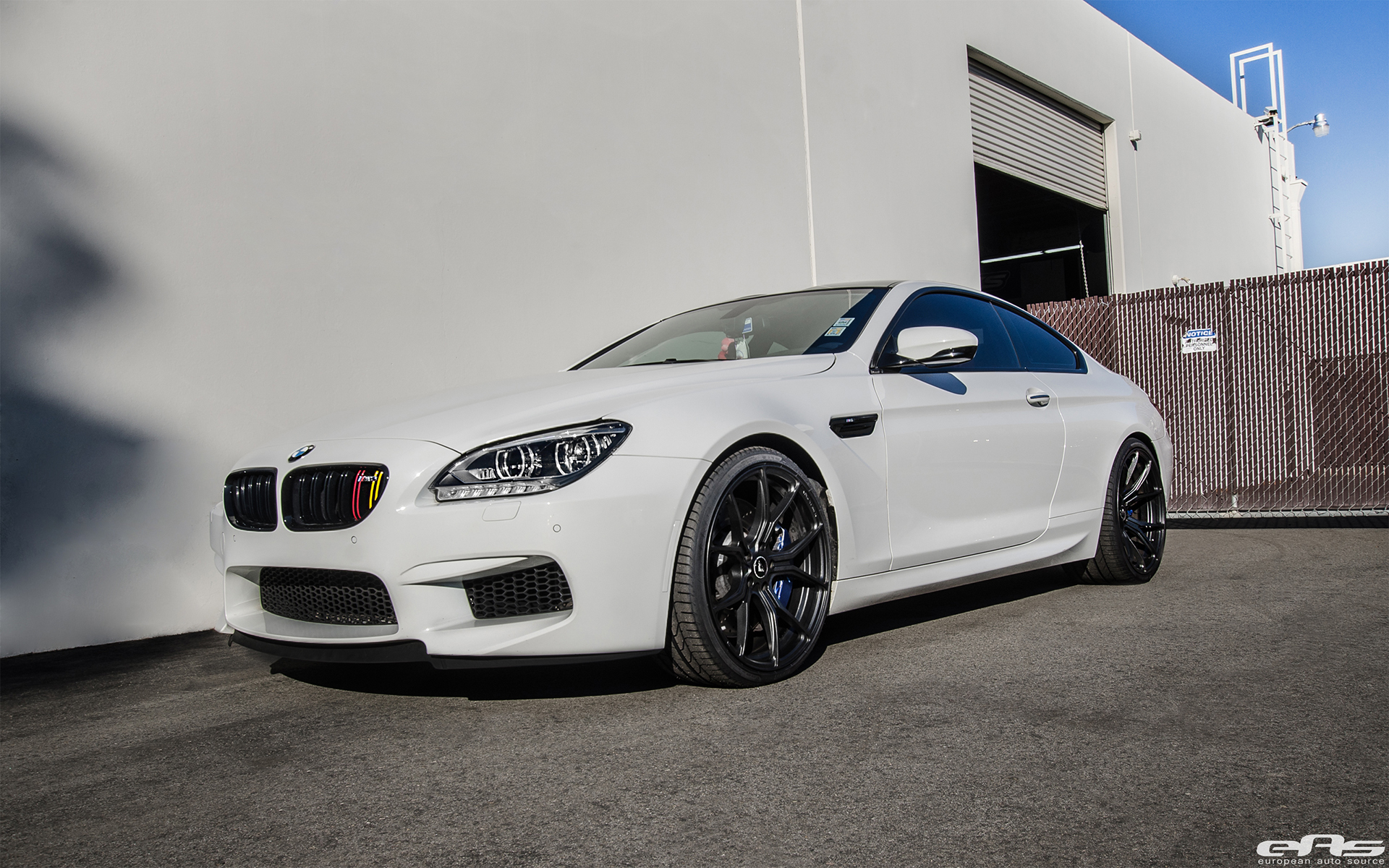 Alpine White Bmw M6 Project By European Auto Source