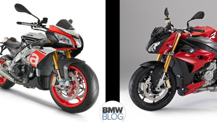 Aprilia Tuono 1100 RR BMW S 1000 RR