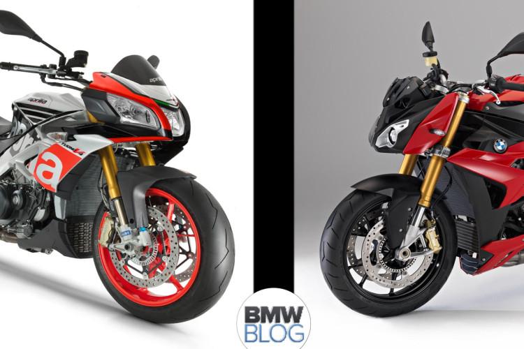 Aprilia Tuono 1100 RR BMW S 1000 RR 750x500