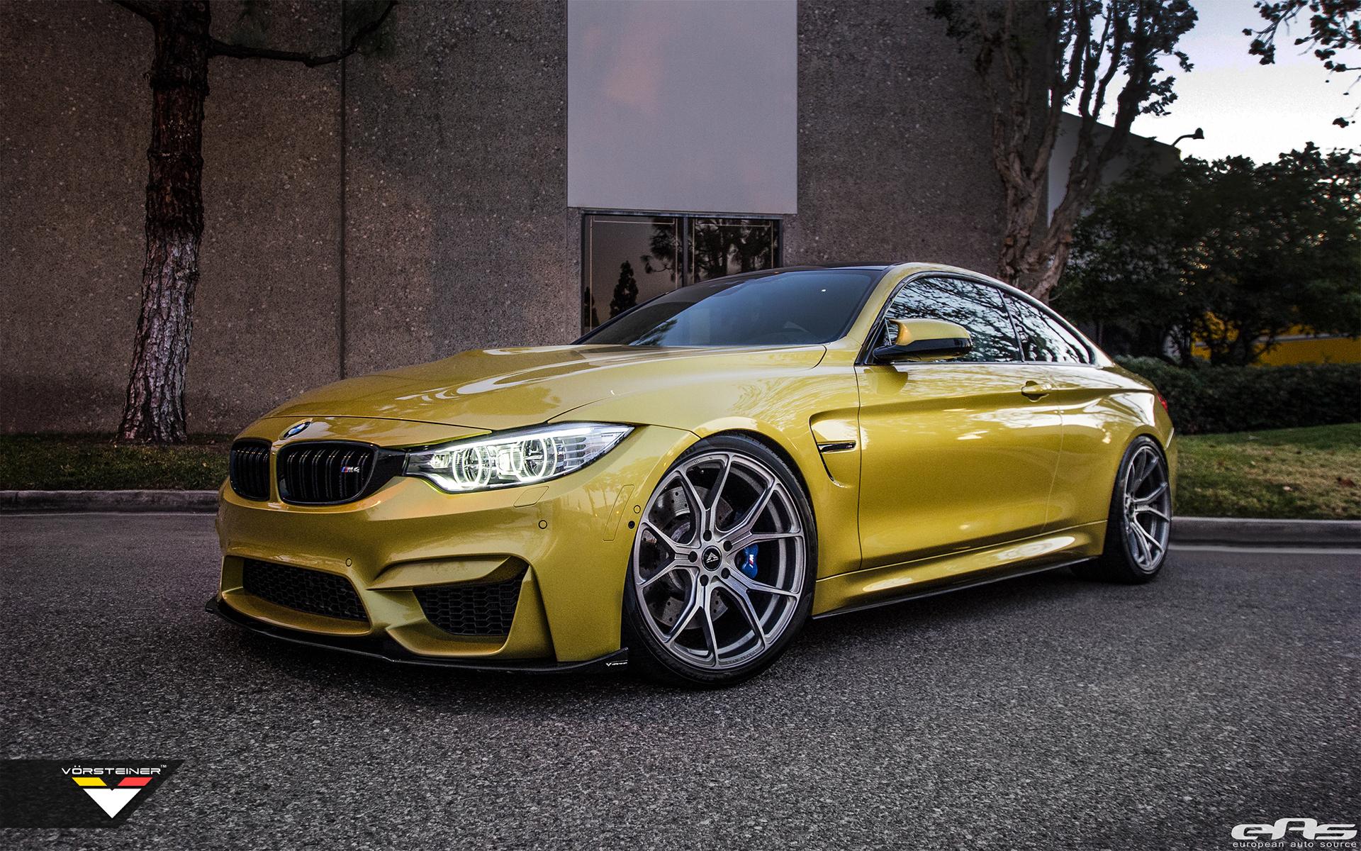 Austin Yellow BMW F82 M4 By European Auto Source 1