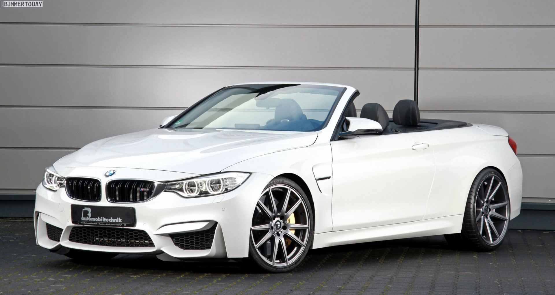 Bmw M4 Convertible By B Amp B Makes 580 Horsepower