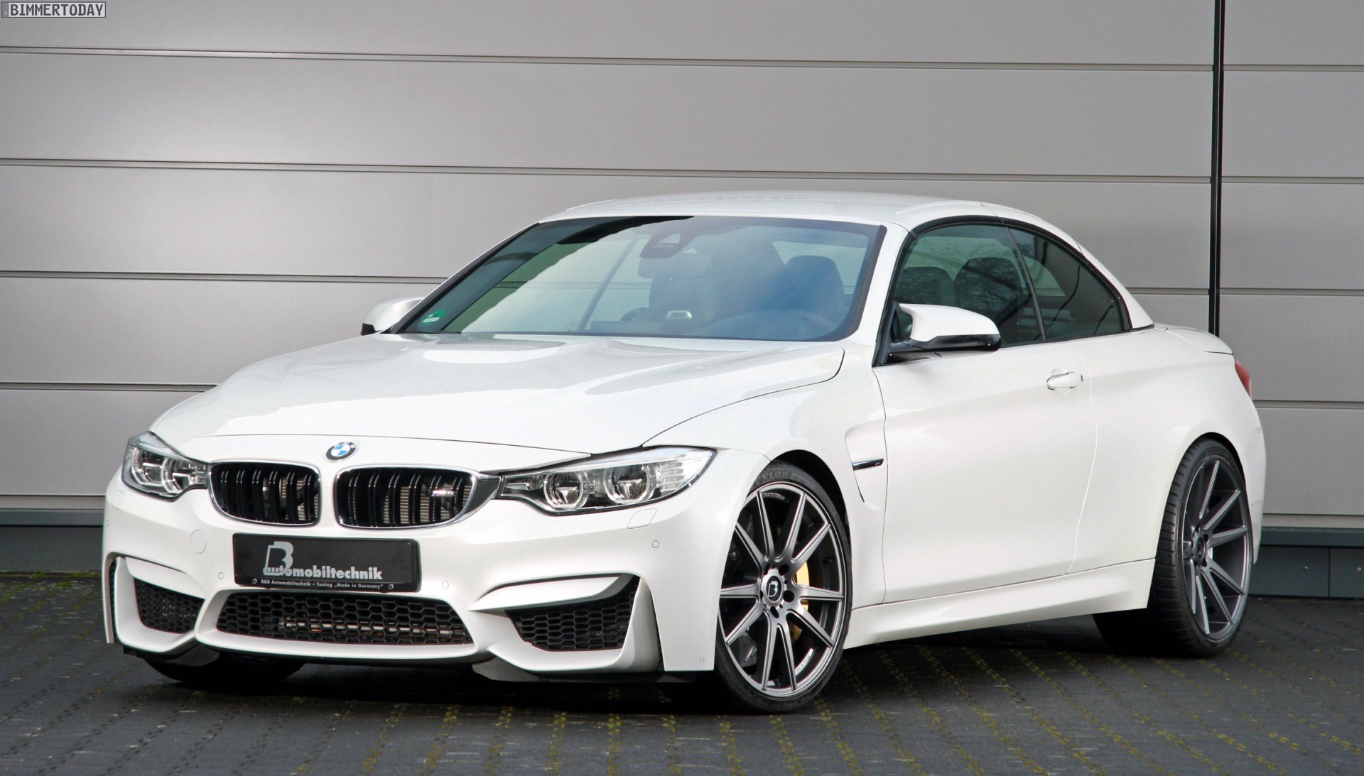 bmw m4 convertible by b b makes 580 horsepower. Black Bedroom Furniture Sets. Home Design Ideas