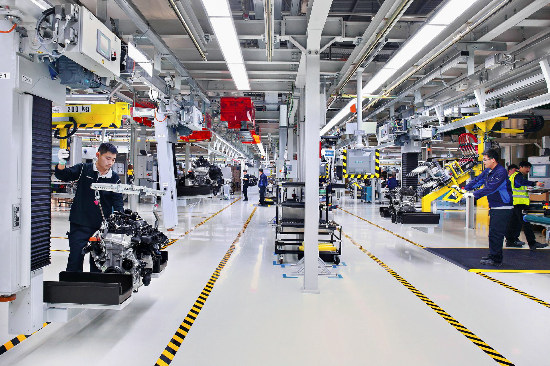 BMW Brilliance Automotive opens new engine plant with light metal foundry in China