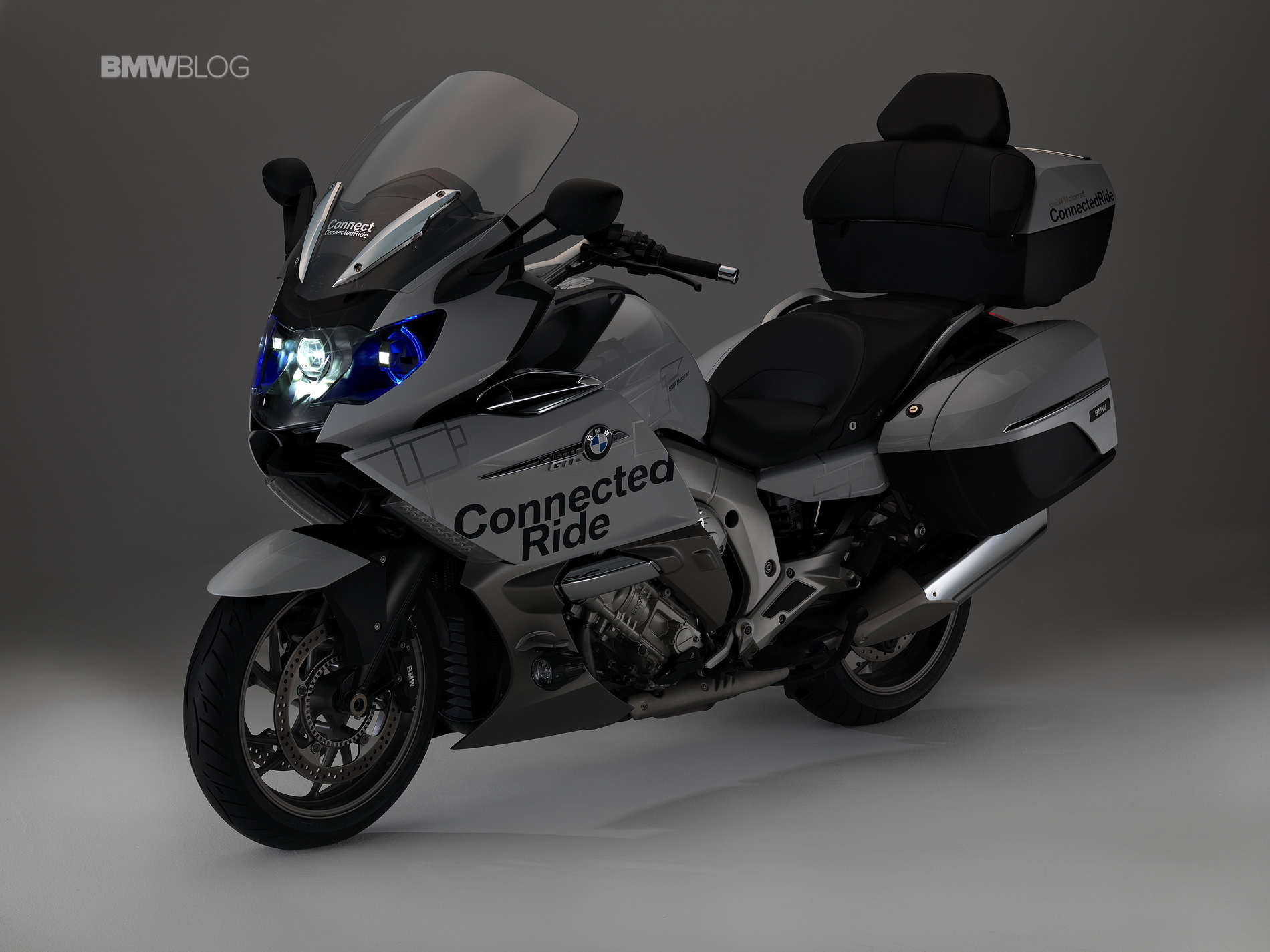 bmw k 1600 gtl concept with bmw motorrad laser light. Black Bedroom Furniture Sets. Home Design Ideas